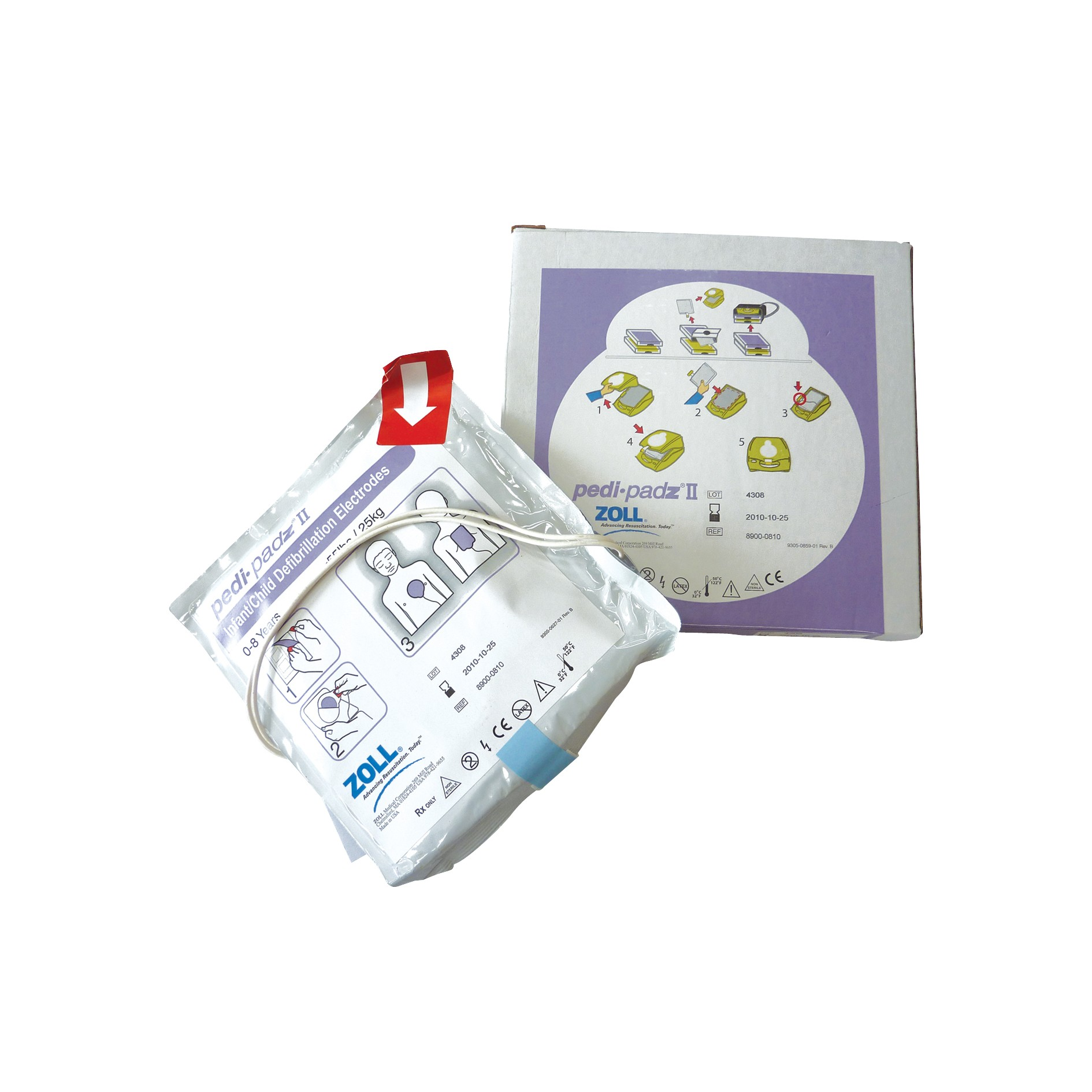 Zoll AED Plus Pads Kids • EMS Risico
